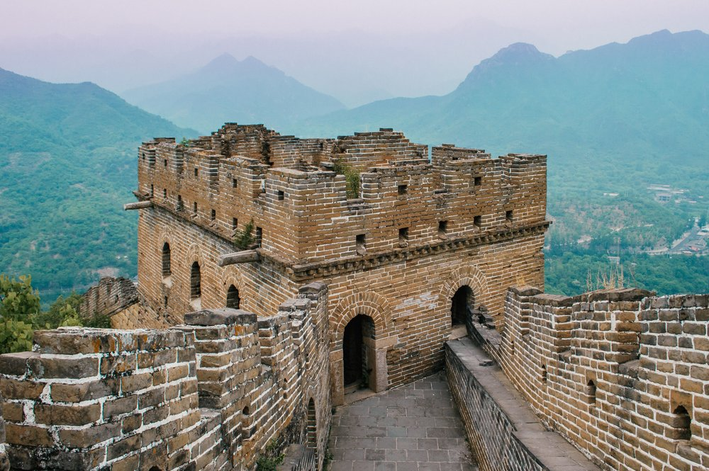 great wall of china watchtower photography