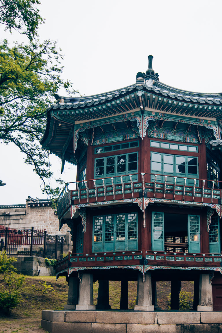 historic outdoor museum in Seoul