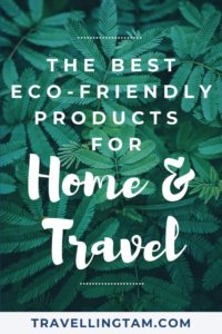 eco friendly travel products recommendations
