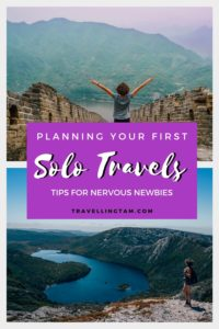 First solo trip travel advice