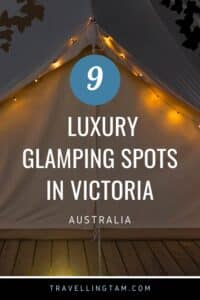 the best glamping in Victoria Australia