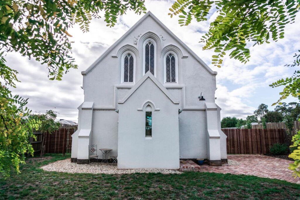 unique converted church holiday let