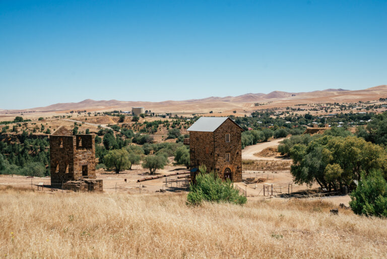 historic mining town in south australia