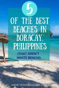 secluded and quiet beaches Boracay Philippines